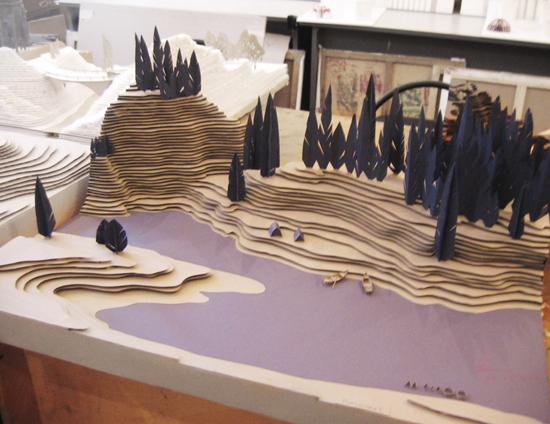 Макет рельефа местности своими руками из бумаги для детей